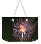 Fireworks At Night 9 Weekender Tote Bag