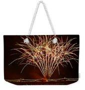 Fireworks At Tempe Town Lake  Weekender Tote Bag by Saija  Lehtonen
