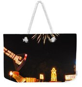 Fireworks At The Carnival Weekender Tote Bag
