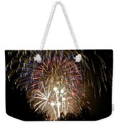 Fireworks Bursts Colors And Shapes 1 Weekender Tote Bag