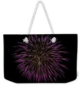 Fireworks Bursts Colors And Shapes 5 Weekender Tote Bag