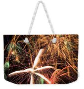 Fireworks Exploding Everywhere Weekender Tote Bag by Garry Gay