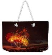 Fireworks Finale Weekender Tote Bag by Robert Bales