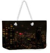 Fireworks From My Window 1 - Manhattan Weekender Tote Bag