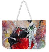 Fireworks In The Bullring Weekender Tote Bag