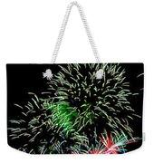 Fireworks Over The Bay Weekender Tote Bag