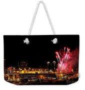 Fireworks Over The Kansas City Plaza Lights Weekender Tote Bag