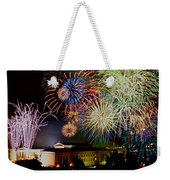 Fireworks Over The Museum Weekender Tote Bag