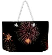 Fireworks Panorama Weekender Tote Bag by Bill Cannon