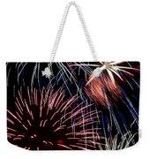 Fireworks Spectacular Weekender Tote Bag