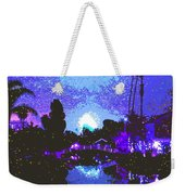Fireworks Venice California Weekender Tote Bag by Jerome Stumphauzer