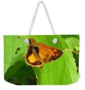 Firey Skipper Butterfly Weekender Tote Bag