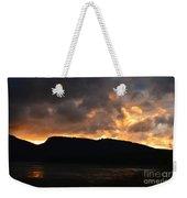 Firey Sky Weekender Tote Bag