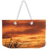 Firey Sunset Weekender Tote Bag