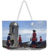 Firing Of The Cannon 4 Weekender Tote Bag