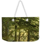 Firs And Ferns Weekender Tote Bag