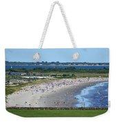 First Beach Newport Ri Weekender Tote Bag