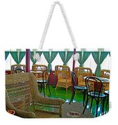 First Class Lounge In S S Klondike On Yukon River In Whitehorse-yt Weekender Tote Bag
