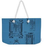 First Computer Blueprint Patent Weekender Tote Bag