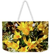 First Crocus Serenade Weekender Tote Bag