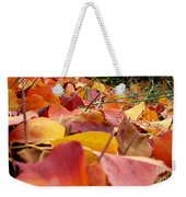 First Day Of Fall Weekender Tote Bag