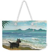 First Day Of Vacation Weekender Tote Bag
