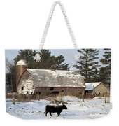First Day Of Winter Weekender Tote Bag