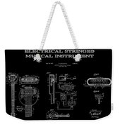 First Electric Guitar 2 Patent Art  1937 Weekender Tote Bag