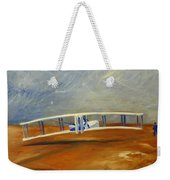 First Flight Aka Kittyhawk Dream Weekender Tote Bag
