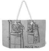 First Gas Pump Patent Drawing Weekender Tote Bag