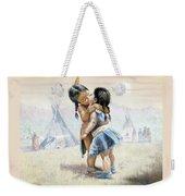 First Kiss Weekender Tote Bag