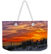 First Light At Cape Cod Beach  Weekender Tote Bag