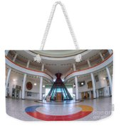 First Nations University Of Canada Interior Weekender Tote Bag
