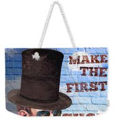 First Shot Weekender Tote Bag