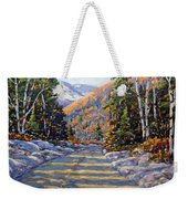 First Snow By Prankearts Weekender Tote Bag by Richard T Pranke