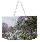 First Snow Of The Season Weekender Tote Bag