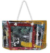 First Snowfall On The Square Weekender Tote Bag