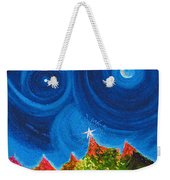 First Star Christmas Wish By Jrr Weekender Tote Bag by First Star Art