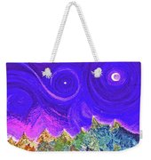 First Star Sunrise Weekender Tote Bag