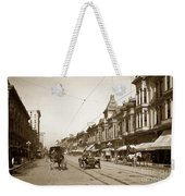 First Street Downtown San Jose California Circa 1905 Weekender Tote Bag