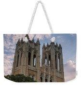 First United Methodist Church Fort Worth Weekender Tote Bag