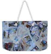 First We Take Manhattan Weekender Tote Bag