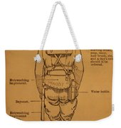 First World War Cyclist Weekender Tote Bag