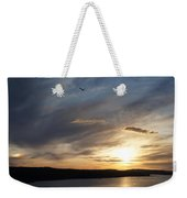 Firth Of Forth In The Sunset Weekender Tote Bag