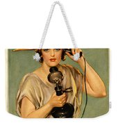 Fiscal Cliff Weekender Tote Bag