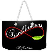 Fiscellaneous Weekender Tote Bag