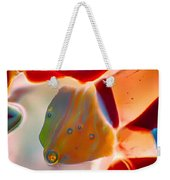 Fish Blowing Bubbles Weekender Tote Bag