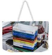 Fish Boxes Weekender Tote Bag