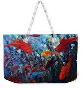 Fish Chatter Weekender Tote Bag