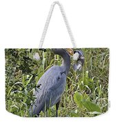 Fish Dinner Weekender Tote Bag